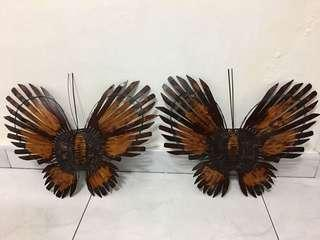 Bamboo Butterfly Wall Decor
