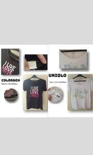 Uniqlo + Colorbox + Freeong‼️