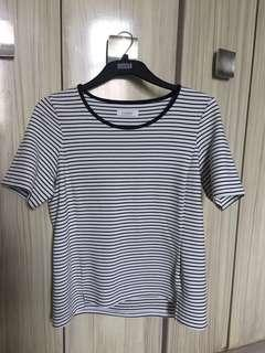 Marks and spencer striped blouse