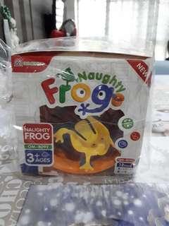 Naughty frog game