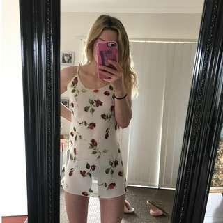 Sheer rose dress