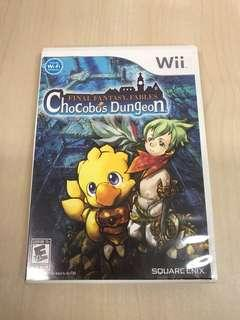 Wii Final Fantasy Fables Chocobo's Dungeon