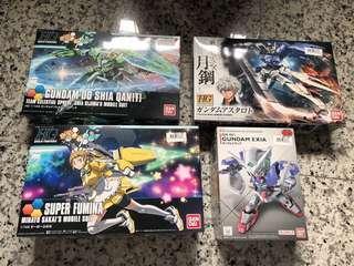 Gundam for sale(all brand new guaranteed)