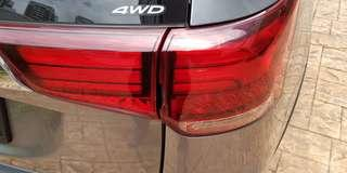 Mitsubishi Outlander 2015 tail light (driver side)