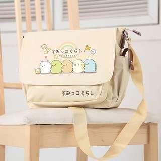 [PO] Sumikko Gurashi Canvas Sling Bag