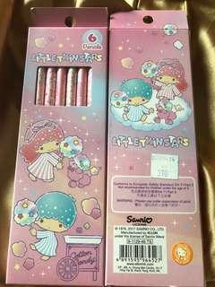 Sanrio Little Twin Stars 6支裝鉛筆