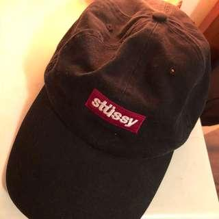 STUSSY shallow cap