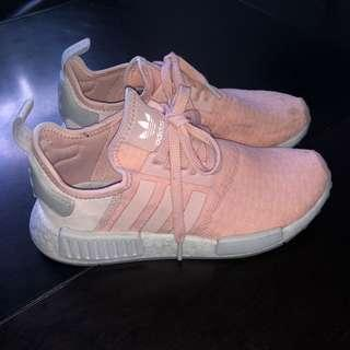 Peach Pink Adidas NMD R1