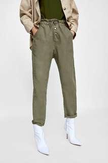 Army button pants