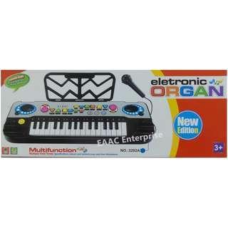 32 Key Electronic Colorful Keyboard Piano Organ + Microphone Record