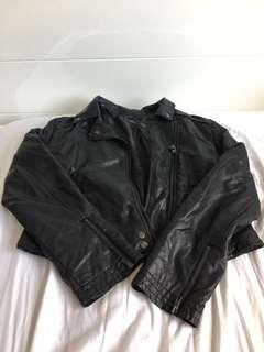 Women's Size 12 leather jacket