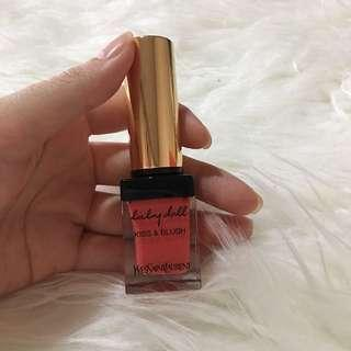 Yves saint laurent YSL - lipstick and blush