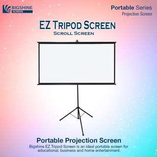 [EXZEN] EZ Tripod Portable Projector Screen