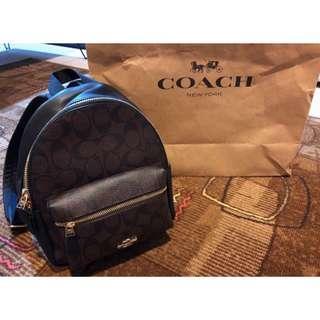 🚚 Coach後背小包 超質感全新