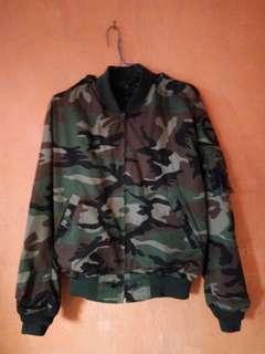 Jaket army military bomber korea original