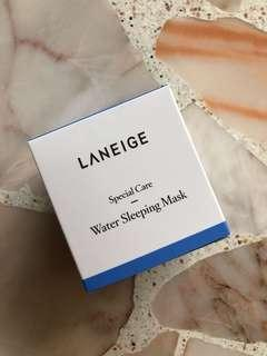BNIB Laneige Water Sleeping Mask (70-ml)