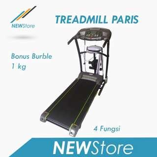 Treadmill Elektrik Paris 4 Fungsi