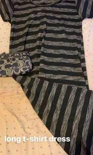 Long T-shirt Dress!