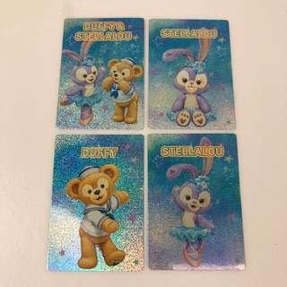 Duffy熊 & Stellalou 閃卡