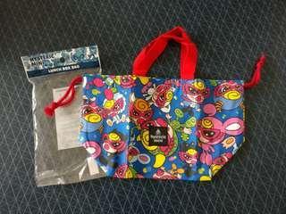🇯🇵購於日本 Hysteric Mini Hysteric Glamour 🕶️ 黑超b 奶嘴b 藍色 手挽袋