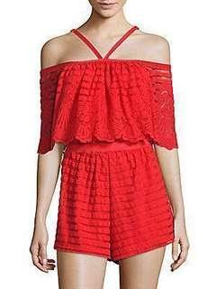 $2000 ➡️ $480 Alice McCall Heart Of Gold Playsuit Scarlet (~Retail $2000)