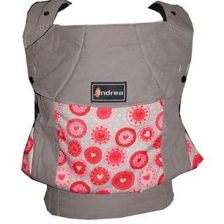 [TODDLER] Andrea Baby Carrier - Grey Hearts ($95)