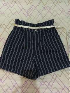 Zara garterized shorts