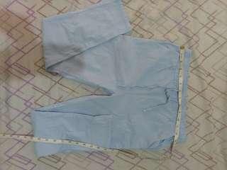 Trouser Pants Garterized