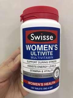 Swisse 女性多元維他命(120片)