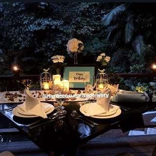 Candle light dinner / Decoration