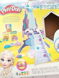 Playdoh frozen