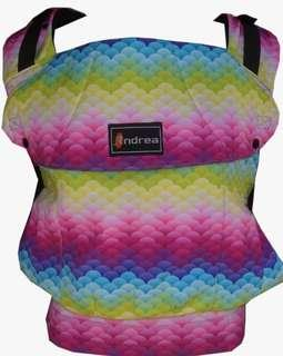 [TODDLER] Andrea Baby Carrier - Full Rainbow ($110)
