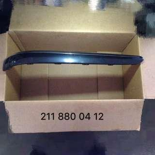 Mercedes Benz E-class W211 rear bumper moulding RH