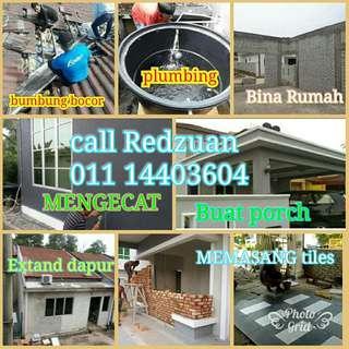 Kajang plumbing service Dan Bumbung Bocor  hubungi Wan  01114403604