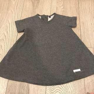 Korean brand grey dress