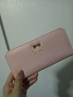 BN Pastel Pink Long Wallet