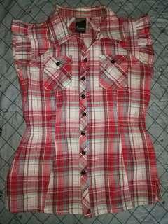 Crissa Chekered blouse
