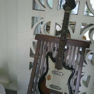 Vintage Electric Guitar Made In JAPAN
