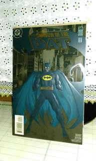Vintage 1995 Batman Shadow Of The Bat #35 . Embossed issue.