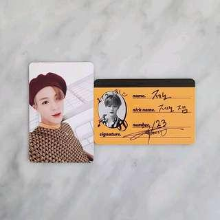 LOOKING FOR Jeno We Go Up Photocard crew card