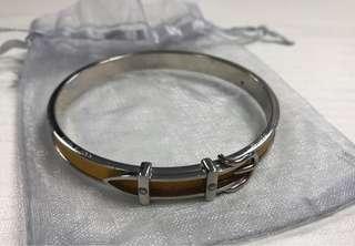 🈹️🈹️🈹️ Hermès Vintage Buckle Yellow bracelet 愛馬仕手鐲