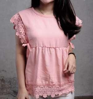 Baju bangkok  pink muda