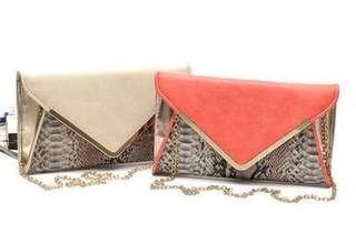 Bag clutch or with sling