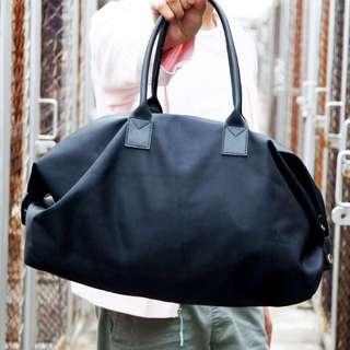 Mini Duffle Bag Leather Handle