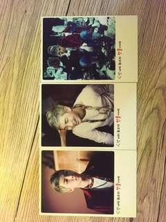 BTS RM Poloriod Style Double Sided Photocard Set