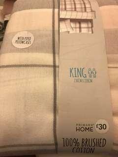 King duvet/quilt cover
