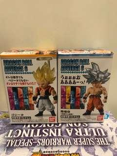 Dragon Ball Adverge 6 - Gogeta / UI Goku