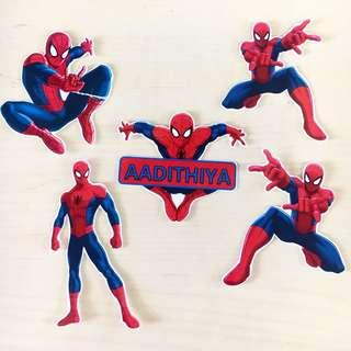 Spiderman Cake / Cupcake Toppers