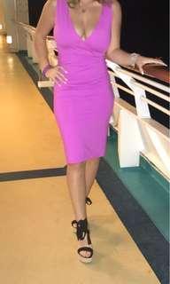 Kookai pink dress size 2