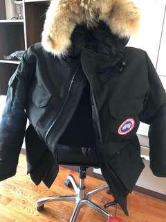 Canada goose parka black small